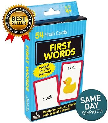 Baby Toddler Book First Words Brighter Child Flash Cards 54 Kid Gift Learning UK • 5.89£