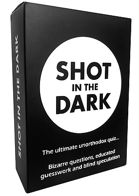 Shot In The Dark - The Ultimate Unorthodox Quiz Game • 11.99£
