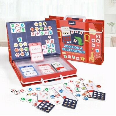 UK Classroom And Home SchoolingMagnetic Maths Learning Resources Kit 141 Pieces • 9.99£