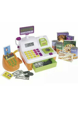 Cash Register Till Pretend Shop Toy With Chip And Pin Feature Supermarket • 24.99£