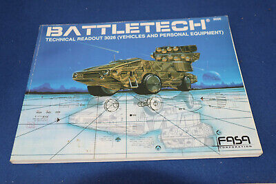 Battletech: Technical Readout 3026, Vehicles And Personal Equipment Paperback – • 18.04£