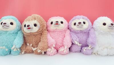 Kawaii Large 38cm Tall Sloth Plushies Soft Pastel Plush Cute Gift Fairy Kei Toy • 14.99£