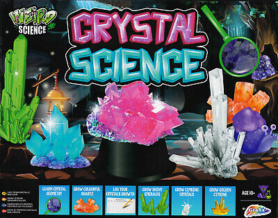 Make Your Own Growing Crystal Science Set Includes Led Light Display Base 0025 • 8.45£