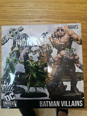 Knight Models DC Universe Miniature Game - Batman Villains • 50£