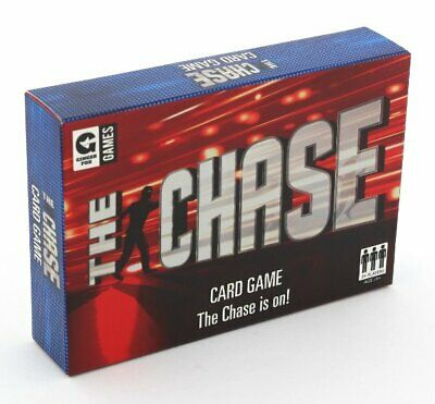 Ginger Fox THE CHASE Card Game 12+ Based On TV Quiz Show • 9.95£