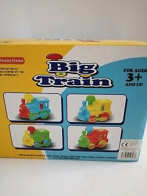 Big Train.Funny Toy Trains. New. 4 Different Ones. Delivery Guaranteed. • 9.99£