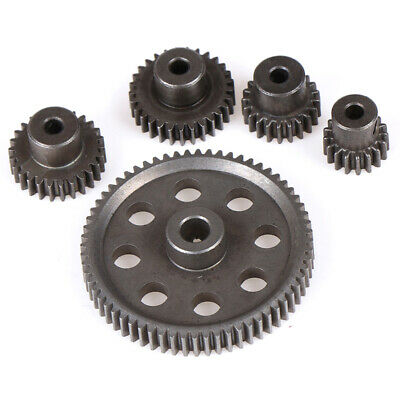 HSP Steel Metal Spur Differential Main Gear 17T/21T/26T/29T/64T Pinion Gear P1 • 5.19£