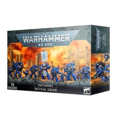 Games Workshop - Space Marines Tactical Squad - 99120101216 - 48-07 • 30.50£