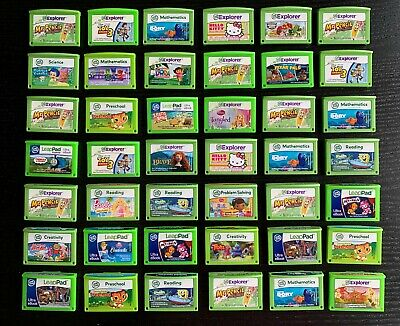 LeapFrog Games For LeapPad 2,3, Ultra, Ultimate, Platinum *Cartridge ONLY* • 14.99£