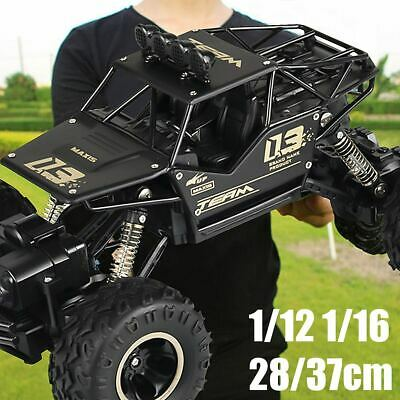 4WD RC Monster Truck Off-Road Vehicle 2.4G Remote Control Buggy Crawler Car UK • 29.99£