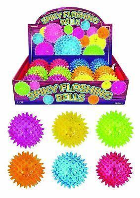 2 X Spikey Flashing Ball  • 4.99£