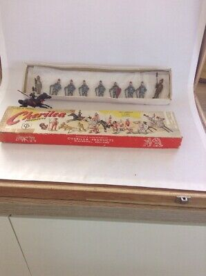Cherilea Boxed (loose) Metal Knights In Armour + 1 Mounted • 25£