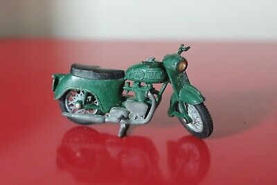 "Britains 2.5"" TRIUMPH ARMY Motorbike GREEN Diecast RARE Vintage Motorcycle 9698 • 25£"