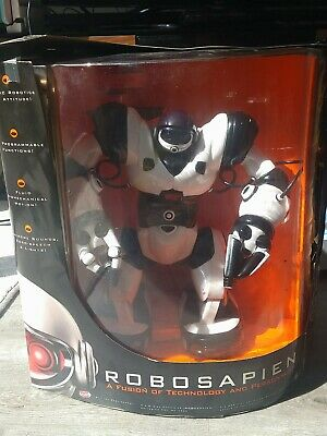 Large Robosapien With Cup, Remote And Box, Remote Controlled Toy From Wowwee • 35£