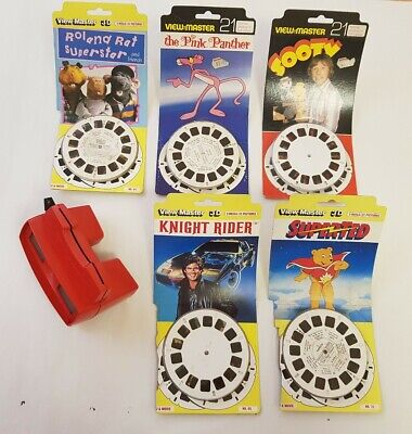 Viewmaster With 5 Sets Of Reels • 50£