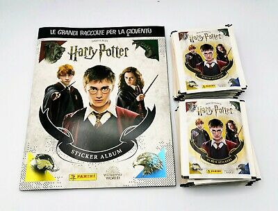 PANINI'S HARRY POTTER SAGA STICKERS COLLECTION - 5/10/20/50 Packs   • 12.99£