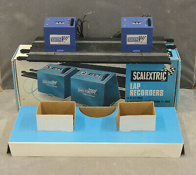 Vintage SCALEXTRIC A260/ Super 124 24A/157 Electric Lap Recorders - BOXED! • 49.99£