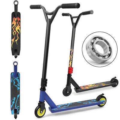 Stunt Scooter Push Kick Trick Scooters City Kids Adult Outdoor 360° 2 Wheel UK • 29.99£