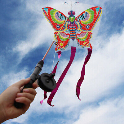 Outdoor Kites Butterfly Flying Kite  Children Kids Fun Sports Toy Be  DMF • 3.27£