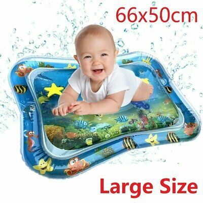 Large Inflatable Water Play Mat Infants Baby Toddlers Kid Perfect Fun Tummy Time • 7.93£
