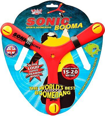 Sonic Booma Flying Sports Toy • 12.68£