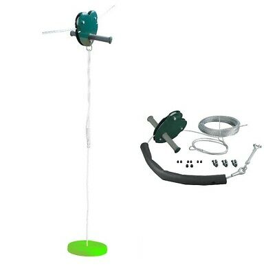 Rebo 25M Complete Zip Wire Kit With Button Seat  • 89.95£