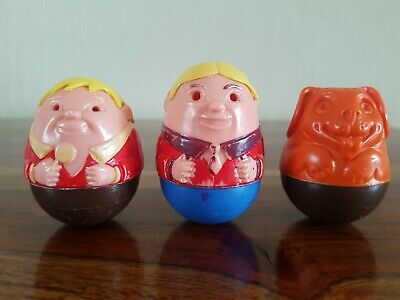 Vintage 1970's Airfix Dad ,willy And Dog Weebles  • 7.99£