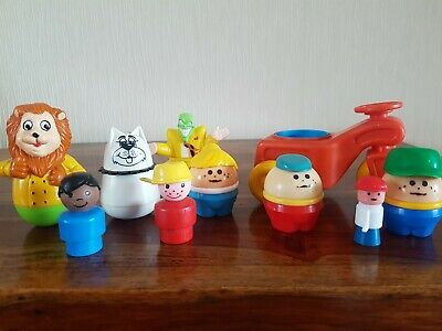 Vintage Weeble / Various Joblot Figure's, Toy's • 9.99£