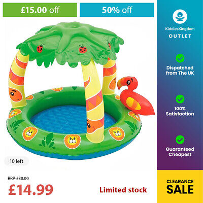 BESTWAY Jungle Inflatable Swimming Paddling Pool (50% OFF | HALF PRICE) • 14.99£