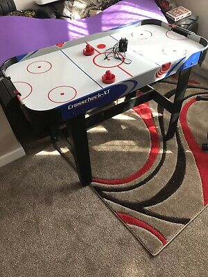 Crosscheck - XT Air Hockey Table With Built In Electric Fan • 49.99£