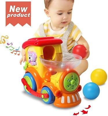 Baby Toy 12-18 Months,Early Educational Electric Train With Chasing Ball • 28.29£