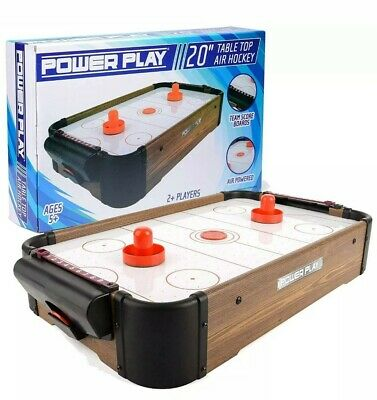 "Table Top 20"" Air Hockey Power Play Free Delivery • 49.99£"