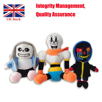 9  Undertale Sans Plush Stuffed Doll Toy Hugger Cushion Cosplay Toy Gifts • 8.13£