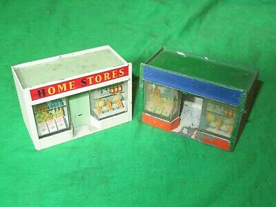 2 Matchbox Lesney Accessory Pack A5   Home Stores  Shops 1 For Renovation • 21£