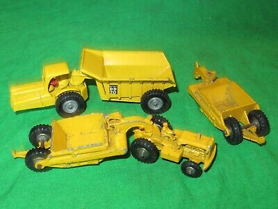 Matchbox Lesney Major Pack No.1 Caterpillar Earthmover + M10 Dinkum Dumper • 1.99£
