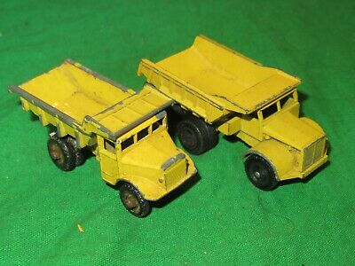 2 Matchbox Lesney No.6 Euclid Quarry Tipper Trucks Unboxed • 1.99£