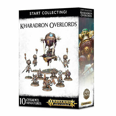 Games Workshop - Start Collecting! Kharadron Overlords - 99120205030 - 70-80 • 59.85£