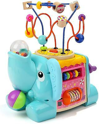 Activity Cube Baby Toy For 1 Year Old Boy And Girl Gift Toddler Toys For One Yea • 22.56£