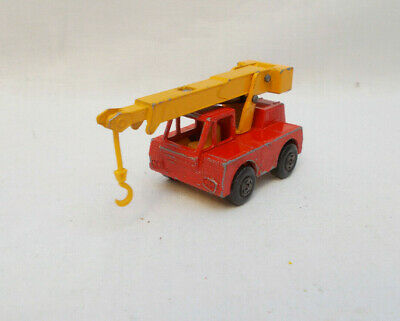Vintage Matchbox Superfast No 42 Iron Fairy Crane - Made In England By Lesney • 4£