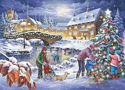 House Of Puzzles 1000 Piece Jigsaw Puzzle - Twinkling Lights - New & Sealed • 15.99£