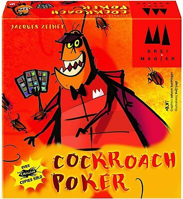 Cockroach Poker Card Game • 16.08£