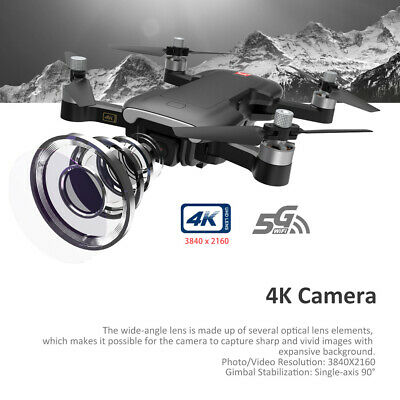 MJX Bugs 7 RC Drone With 4K HD Camera 5G WiFi FPV Foldable Quadcopter 3Batteries • 147.77£