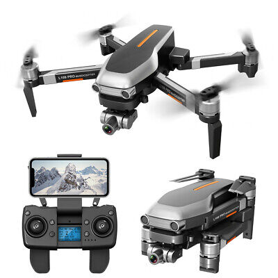 L109PRO GPS Drone 4K Quadcopter 5G WiFi FPV HD ESC Camera Brushless Helicopters • 178.99£