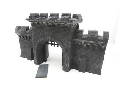 (DB04) Citadel Mighty Fortress Front Gate Scenery Terrain Age Of Sigmar Fantasy • 21£
