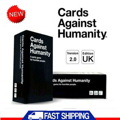 1pcs Cards Against Humanity UK 2.0 Box Sealed Pack 600 Cards Red Blue Green Box • 14.75£