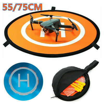55/75cm Foldable Drone Landing Pad Mat Launch Helipad For DJI Mavic 2 Spark UK • 8.29£