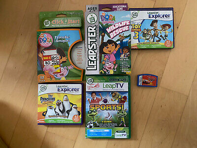 Leap Frog Leapster Games / Carts Bundle • 3.99£