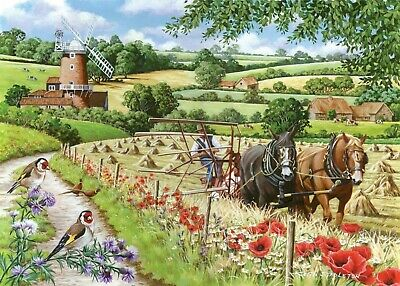 House Of Puzzles Big 500 Piece Jigsaw Puzzle Windmill Lane - New & Sealed • 15.99£