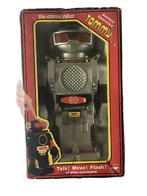 Tommy The Atomic Robot - Battery Operated - Boxed • 27£