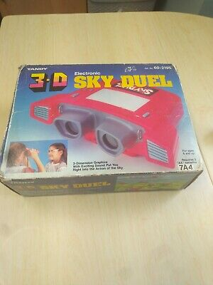 Vintage 3-D Electronic Sky Duel Tandy Tomytronic 1983 - Good Condition See Photo • 18£